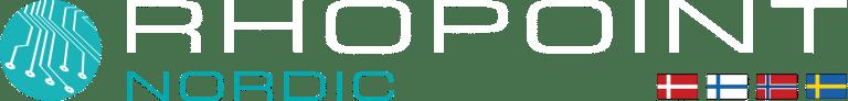 Rhopoint Nordic logo inverted