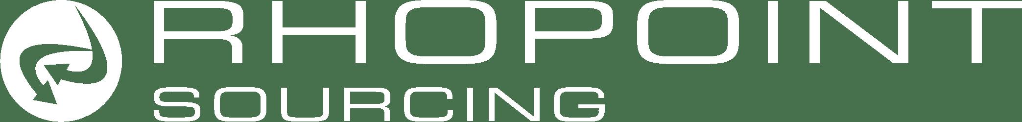 Rhopoint Sourcing logo white