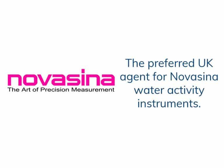Novasina Logo and preffered agent statement
