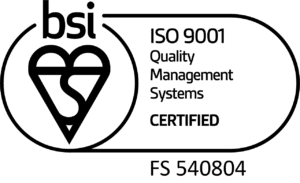 bsi ISO 9001 Novatron Logo